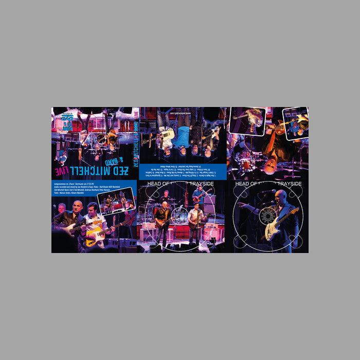 Zed Mitchell Band - LIVE Artwork